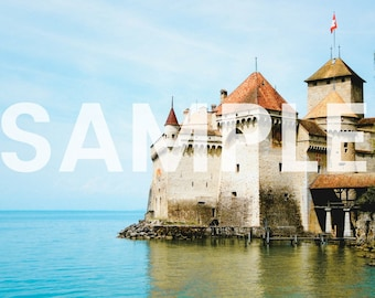 Chillon Castle Switzerland Photo Download