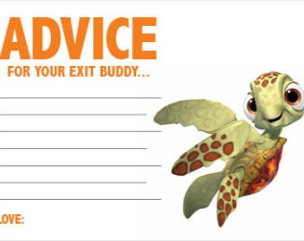 Baby Advice Card - Nemo