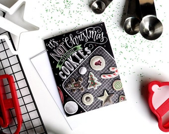 Christmas Cookie Party, Christmas Cookie Exchange, Chalk Art, Christmas Card, Chalkboard Art, Holiday Card