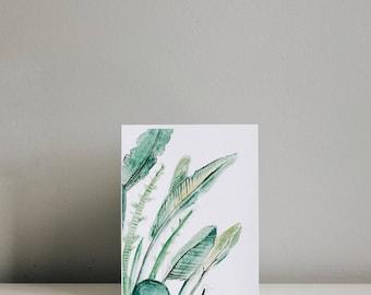 Leafy Greens Card
