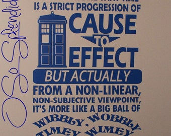 More Colours. Doctor Who Inspired Large Wall Vinyl Decal ...