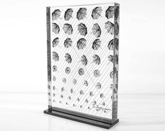 Umbrellas - detail (print 13,6x19)