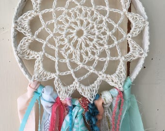 "Dream Catcher for Party or Room Decor YOUR theme colors. 6"" dreamcatcher Party Decoration.  Perfect for Boho, Woodland, Tribal and More"
