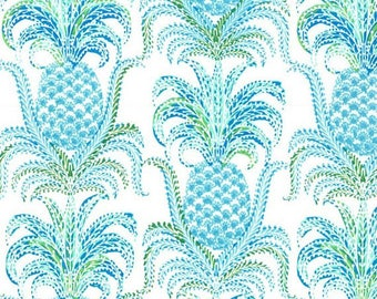 Michael Miller Fabric Pineapple Express in Isle, Tradewinds Collection, Choose your cut