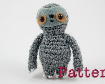 Crochet PATTERN for Sloth