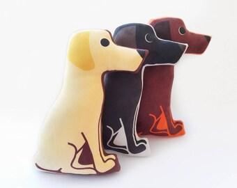 Labrador Retriever Plush Pillow