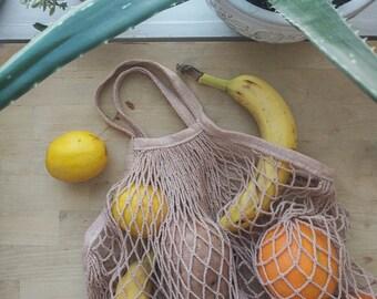 Naturally Dyed Reusable Produce Bag