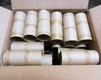 80 Clean Toilet Paper Rolls for Crafting