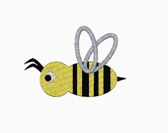 INSTANT DOWNLOAD Bee embroidery design