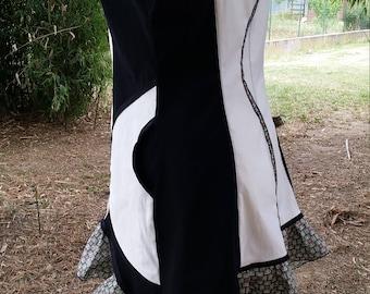 Black and white designer tunic T 44 46