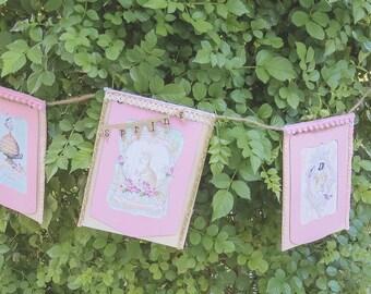 whimsical spring banner
