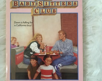 The Babysitters Club Dawn and the Older Boy #37