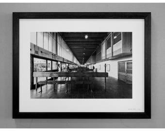 Preston Bus Station Print - Interior transfer level
