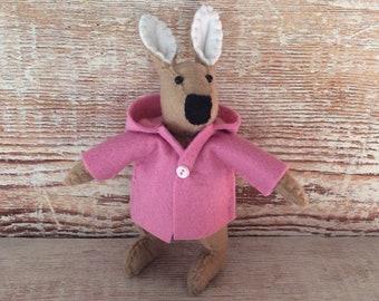 Felt rabbit, easter bunny, keepsake