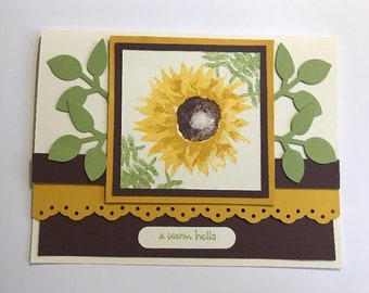 Stampin' UP! Sweet Sunflower Card Kit