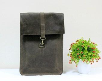 Leather Backpack Mens Leather Backpack Brown Backpack Handmade Bag Men Backpack Rucksack / Handmade leather backpack in brown color