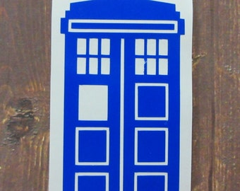 Doctor Who | Tardis | Vinyl Decal