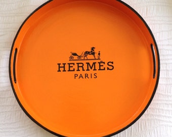 Large round Hermes Tray