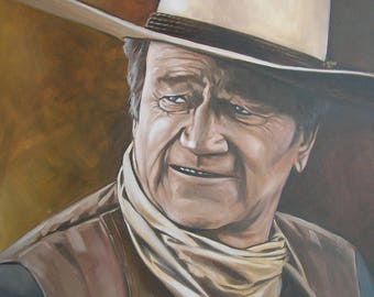 John Wayne, PRINTABLE ART, Print Art, Gallery Quality Print, Famous People, Western, Cowboy, Old West, Famous Western Cowboys, John, Wayne