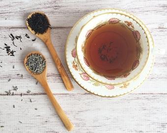 Lavender Earl Grey Tea | Organic + Whole Leaf Tea | Black Tea | London Fog