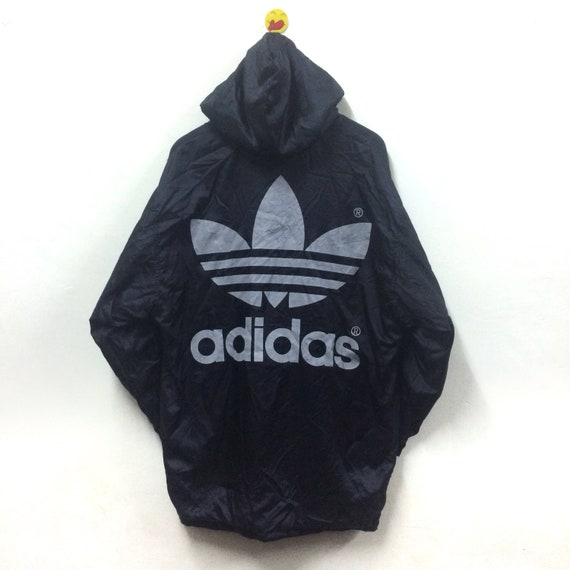 Rare!!! Vintage Adidas Jacket Parka Big Logo Adidas Trefoil Winter YBmbEW6vpK