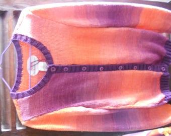women 100% cotton jacket size 42/44 gradient colors