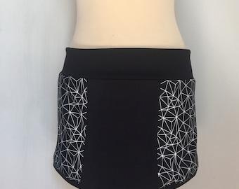 Skirt black Origami 2018