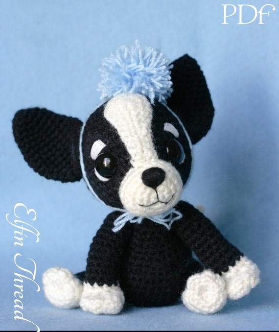 Elfin Thread Chaco The Chihuahua Puppy Amigurumi Pdf