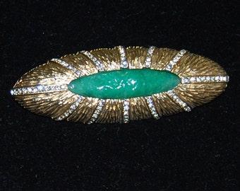 signed kramer brooch