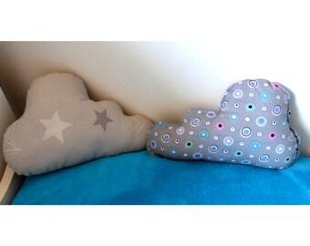 MEDIUM size cloud pillow: 19 x 27 cm
