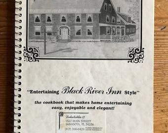 1970s Black River Inn Style cookbook spiral Ludlow Vermont vintage cookbook