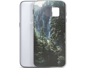 Heavily Wooded Pacific Northwest PNW Samsung Case Outdoor Landscape Case