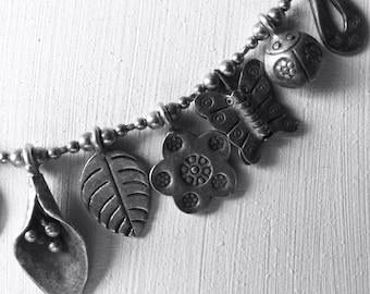 Bracciale charms argento