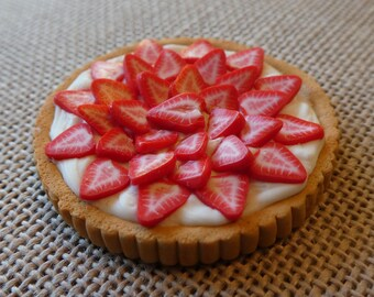 Miniature Strawberry Creme Tart