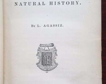 1863 Methods of Study in Natural History