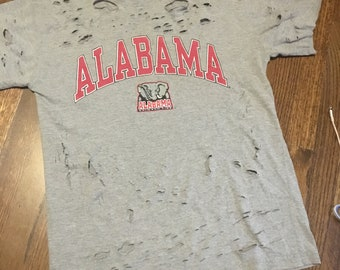 Alabama distressed tee men's size medium
