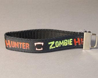Zombie Hunter Wristlet Keychain