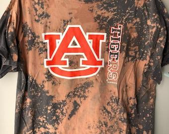 Auburn Tigers Distressed Tee