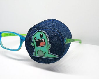 Eye patch used for the treatment of lazy eye - Orthoptic eye patch - Eye patches for kids - Fully obscured eye patch