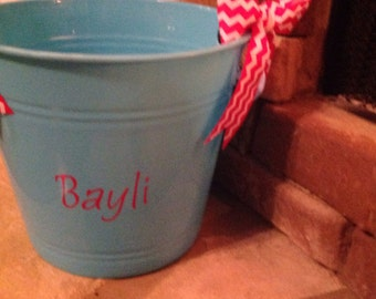 Personalized buckets/tubs