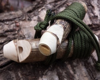 Wooden whistle, Woodland Whistles, whittle, whittled whistle, outdoor gift, dog whistle