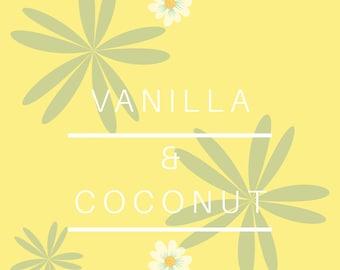 Coconut & Vanilla Candle