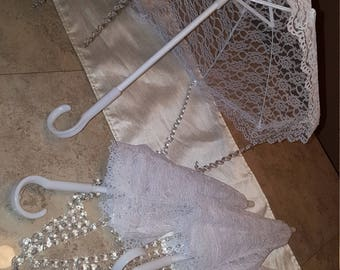 Decorative lace Parasols