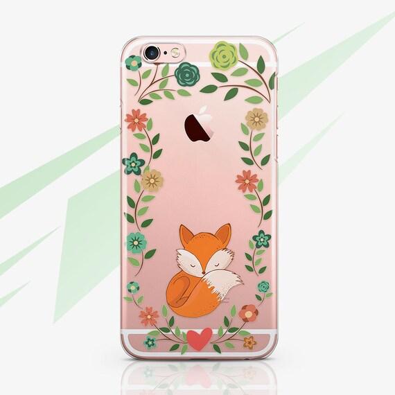coque iphone 6 plus renard