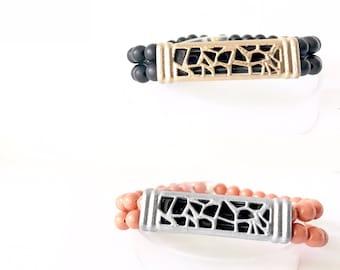 PyXeclipse™ Selene Beaded Bracelet for the Fitbit FLEX2