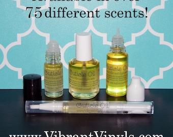 Cuticle Oil - Scents M-Z