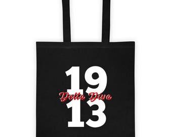 Delta Sigma Theta Diva Tote bag