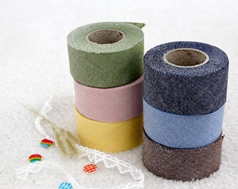 10 Yard (9M), Cotton Bias TapeS, 6 popular colours