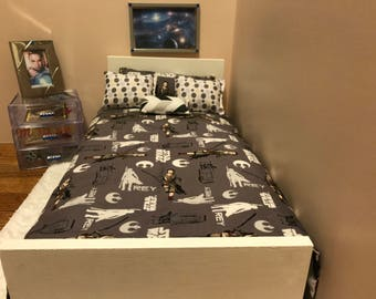 18 Inch Doll Star Wars Theme Bed Set