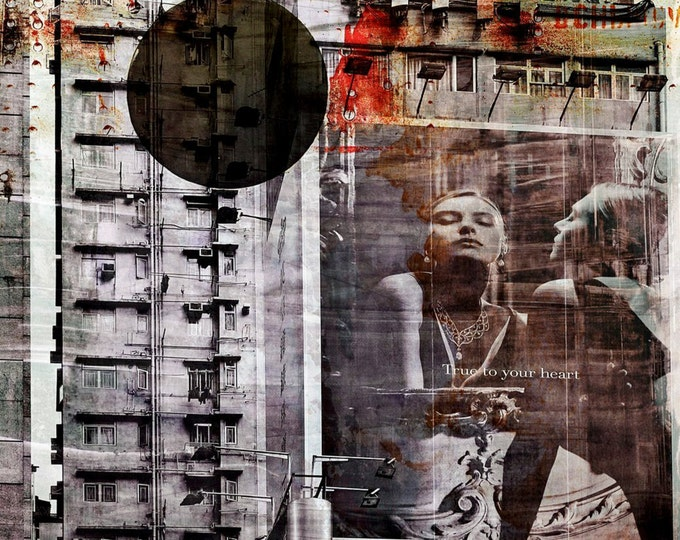 HONG KONG Focus IV by Sven Pfrommer - Artwork is ready to hang